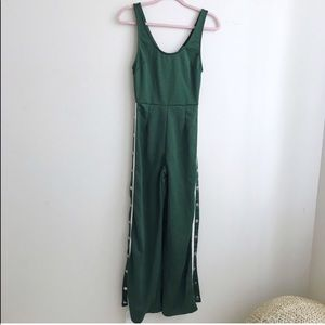 Better Be Green Snap Sides Jumpsuit size S